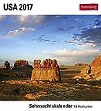 USA - Kalender 2017: Sehnsuchtskalender, 53 Postkarten