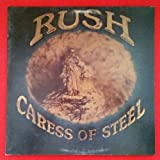 RUSH Caress Of Steel LP Vinyl VG+ Cover VG+ GF 1975 SRM 1 1046 Masterdisk