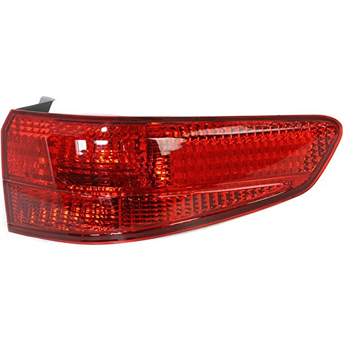 Tail Light for Honda Accord 05-05 Outer Lens and Housing Sedan Right ()