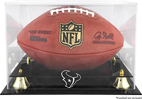 Mounted Memories Houston Texans Team Logo Football Display ()