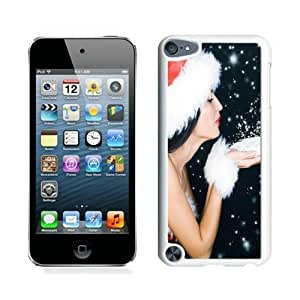 linJUN FENGPersonalize offerings Merry Christmas White iPod Touch 5 Case 95