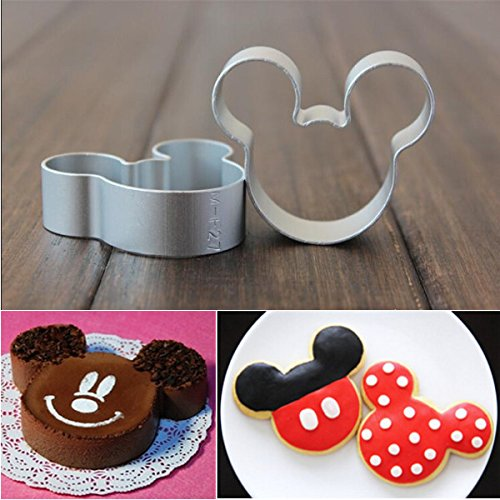 Shop online 5Pcs Cartoon Cake Cookies Cutters Sugar Craft Decorating Tool