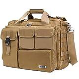 Lifewit 17'' Men's Military Laptop Messenger Bag Multifunction Tactical Briefcase Computer Shoulder Handbags