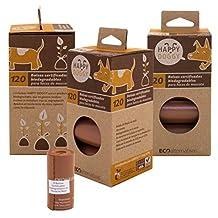 HappyDoggy Bolsa certificada Biodegradable para heces de Mascota