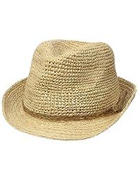 Scala Women's Crocheted Raffia Panama Hat