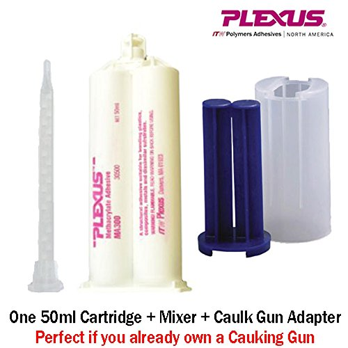 Plexus MA300 All Purpose High Strength 5-Minute MMA Adhesive (30500) 50ml/1.7oz Caulk Gun Adapter Kit by Plexus (Image #9)