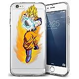 iPhone 6/6s Case, Elite_Cases Ultra Slim Transparent [Dragon Ball Z] Hard Case Cover iPhone 6/6s Plus (5.5) - Kamehameha Wave