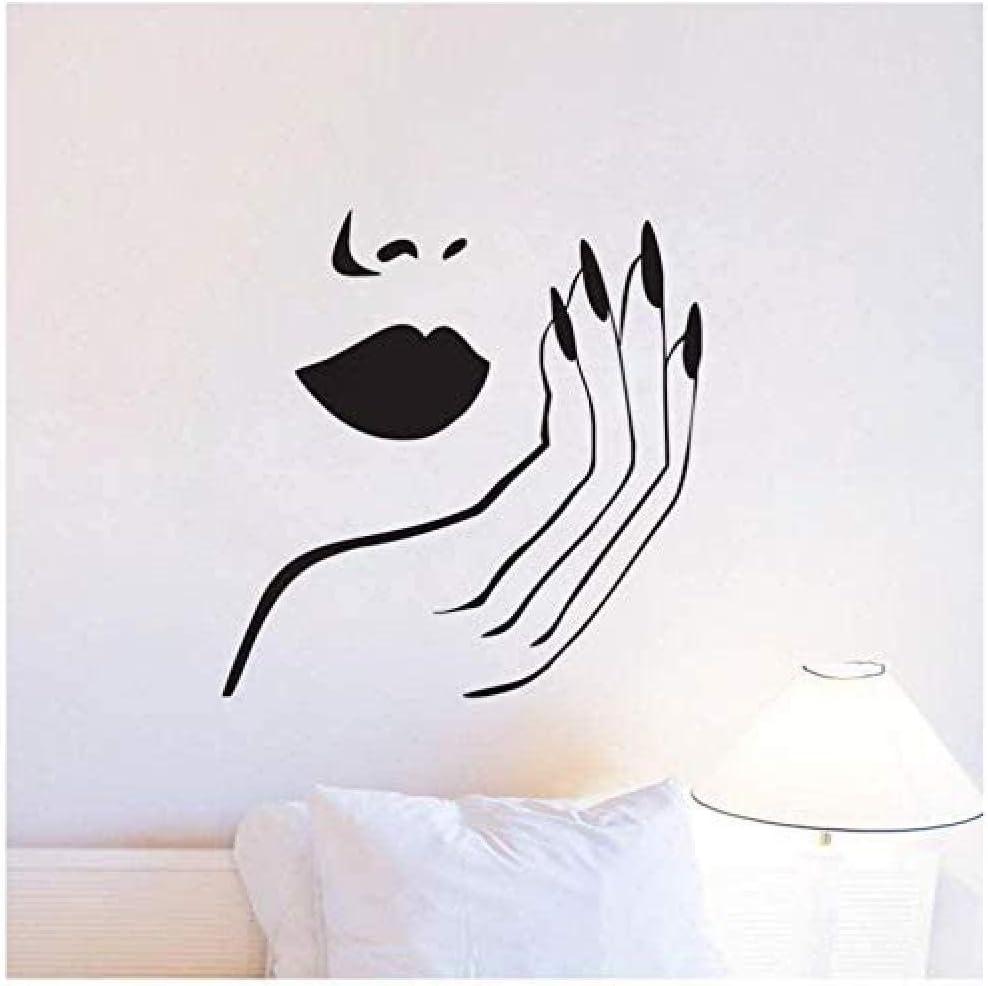Cachimba Shisha Fumar árabe Cool Decal Mural Moda Pesca Casa Vinilo Pegatinas de pared Café Pegatina Decoración para el hogar Dormitorio 56X85Cm