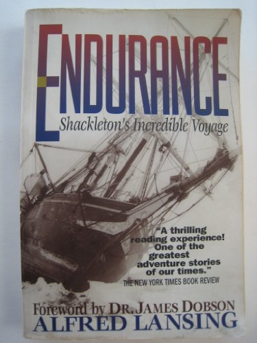 ENDURANCE: SHACKLETON'S INCREDIBLE VOYAGE by Lansing, Alfred ( Author ) on Apr-24-1999[ Paperback ]