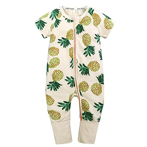 SMALLE◕‿◕ Clearance,Newborn Toddler Baby Boys Girls Cartoon Print Romper Jumpsuit Outfits Clothing -