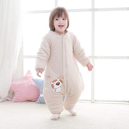 Saco de Dormir Acolchado de Algodón para Bebé ,Sacos de dormir de algodón para otoño e