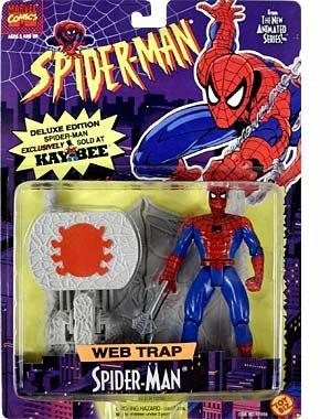 Web Trap - Web Trap Spider-Man Action Figure