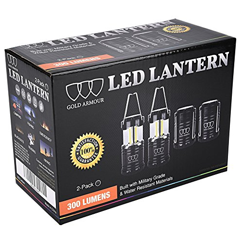 Brightest-Camping-Lantern-LED-Lantern-EMITS-300-LUMENS-Camping-Equipment-Gear-Lights-for-Hiking-Emergencies-Hurricanes-Outages-Storms-Black-2-Pack