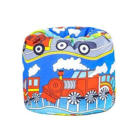 Childrens Transport Ready Filled Scatter Cushion Kids Bedroom Playroom Accessories