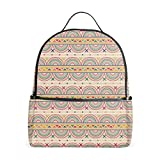 Native Art Backpack for Kids Boys Girls School Laptop Backpack...