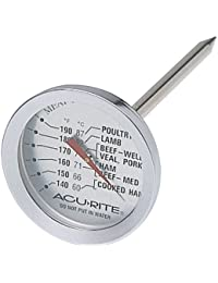 Favor Acu-Rite 00680 Kitchen Essentials In-Oven Meat Thermometer lowestprice