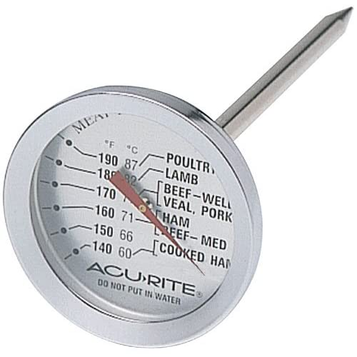 Acu-Rite 00680 Kitchen Essentials In-Oven Meat Thermometer