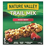 Nature Valley  Mixed Berry Chewy Trail Mix, 5-Count, 175 Gram