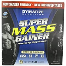 Dymatize-Super Mass Muscle Growth-Cookies and Cream-12-Pound