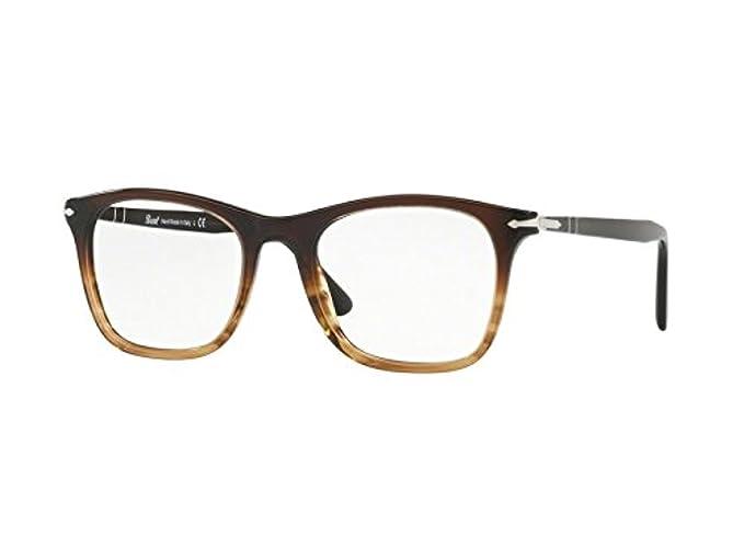 Persol 0PO3188V, Monturas de Gafas para Mujer, Brown Tortoise, 53