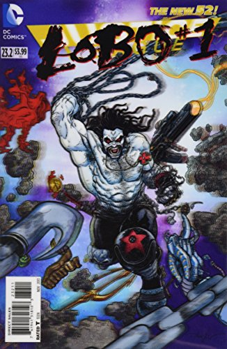 """Justice League #23.2 """"3D Motion Cover Variant- The man called Lobo"""""""
