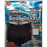 "It's Academic Premium Edition Super Stretch Book Cover: Black - Fits 10"" X 15"" Textbooks Guaranteed!"