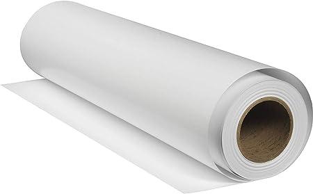 Rollo de vinilo adhesivo extraíble y reposicionable de color blanco mate de 12 pulgadas por 15 pies, para Cricut, Silhouette Cameo, cortadores de manualidades y cortadores de vinilo de StyleTech: Amazon.es: Hogar