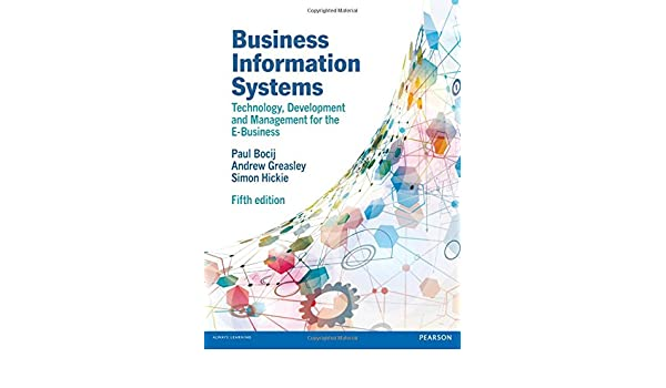Business information systems paul bocij 9780273736455 amazon business information systems paul bocij 9780273736455 amazon books fandeluxe Gallery