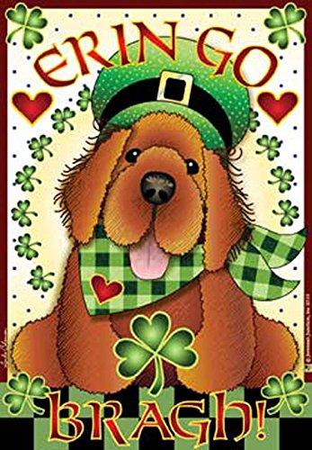 Jeremiah Junction Magnet IRISH SETTER dog puppy ERIN GO BRAGH Mother's Day