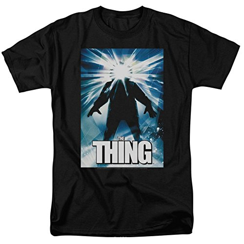 The Thing Science Fiction Horror Thriller Movie Poster Adult Mens T-Shirt XL