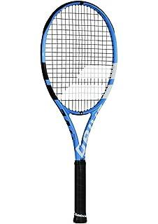 Babolat Pure Drive Tour Plus + Extended Black Blue White Tennis Racquet  Strung with db6e2da36f9ec