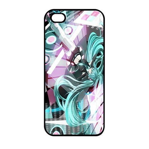 Coque,Japanese Comics Miku Pattern for Coque iphone SE & Coque iphone 5 & Coque iphone 5S Though Shell Case Covers