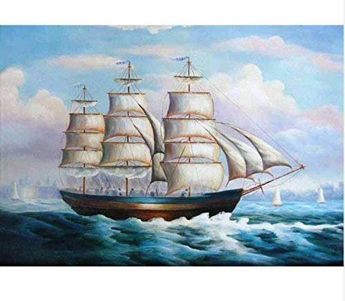 Jigsaw Puzzle 1000 Piece Landscape DIY Sailing Home Decor Inlay Wall Art Decor Classic Puzzle 3D Puzzle DIY Kit Wooden Toy Unique Gift Home Decor