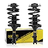 OREDY Front Pair Complete Quick Struts Shock Coil Spring Assembly Kit 171404 171405 XS846145921 XS846146022 11132 11131 compatible with 2000 2001 2002 2003 2004 2005 2006 HYUNDAI ELANTRA