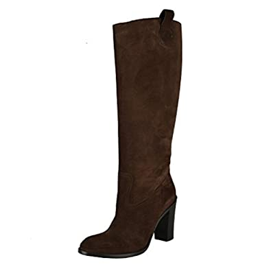 6decf21c5b Amazon.com | Gucci Suede Leather High Heel Boots Shoes | Knee-High