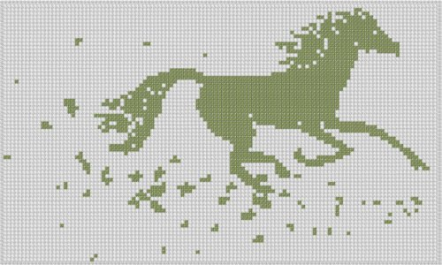 Buy english horse cross stitch pattern