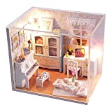 CXZC DIY Doll House Living Room, Warn Dollhouse Model Furniture Children Kids Xmas Gift For Kid To Decorate
