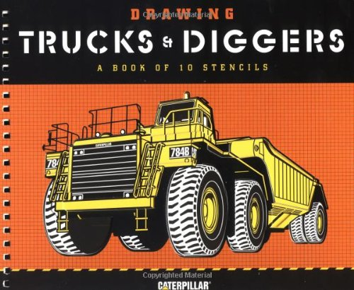 Drawing Trucks and Diggers: A Book of 10 Stencils pdf