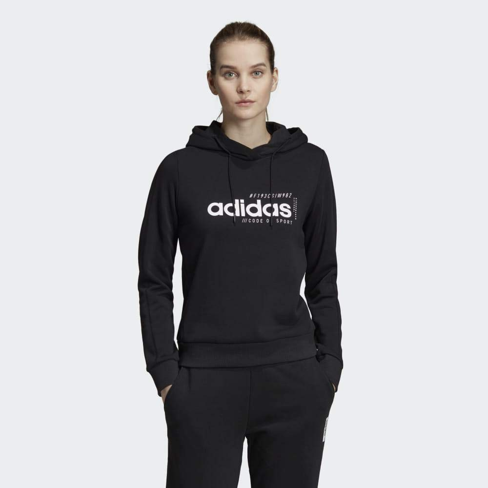 adidas Damen Brilliant Basics Hoody Black