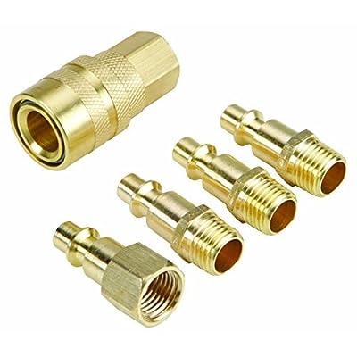 5 Piece Brass Quick Connect Starter Set