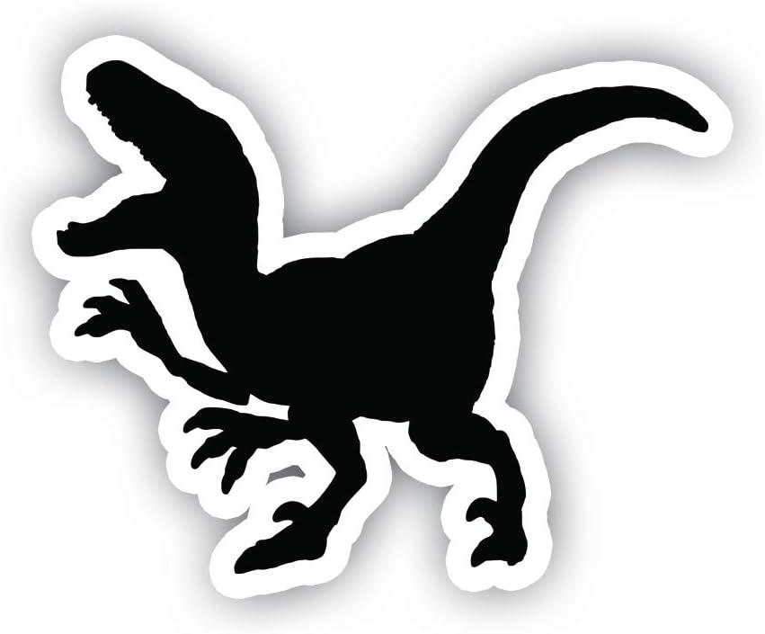 "T-Rex Dinosaur Stickers - Vinyl Decal - Laptop, Decor, Window Vinyl Decal Sticker - (4"" Vinyl Decal)"