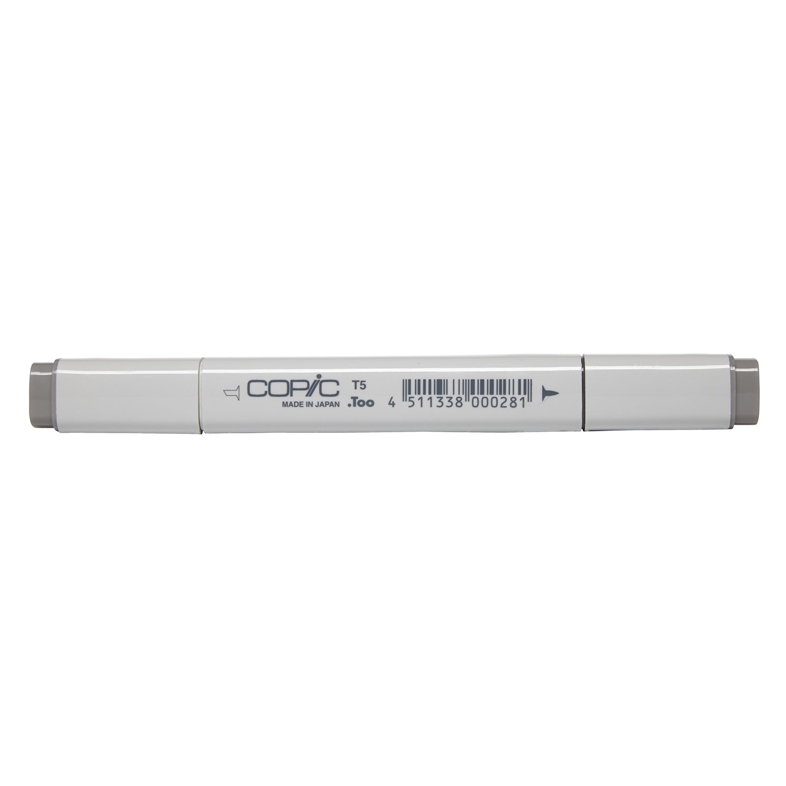 Copic Marker with Replaceable Nib, T5-Copic, Toner Gray