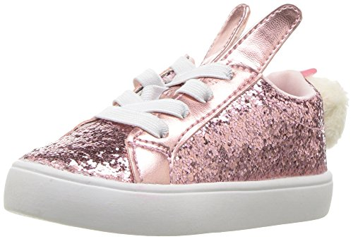 Kids Bunny Shoes (carter's Girls' Teresina Novelty Casual Mary Jane Flat, Pink, 8 M US Toddler)