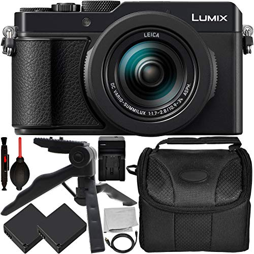 Panasonic Lumix DC-LX100 II Digital Camera  with 9PC Accesso