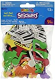 Darice Foam Stickers 91-Pack, Music