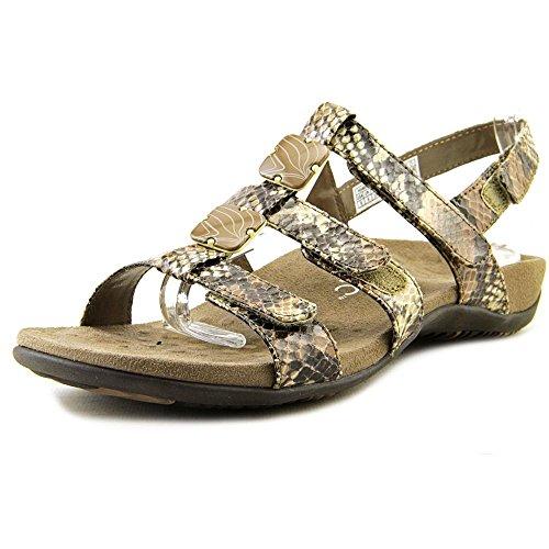 Vionic Paire Ambre–Femme Slide Sandale–Orthaheel Natural Snake Pu lbaXiwel