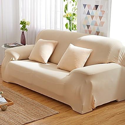 RUGAI UE Sofa Slipcover Elastic Sofa Cover Full Cover Tight Non Slip  Leather Sofa Cushion