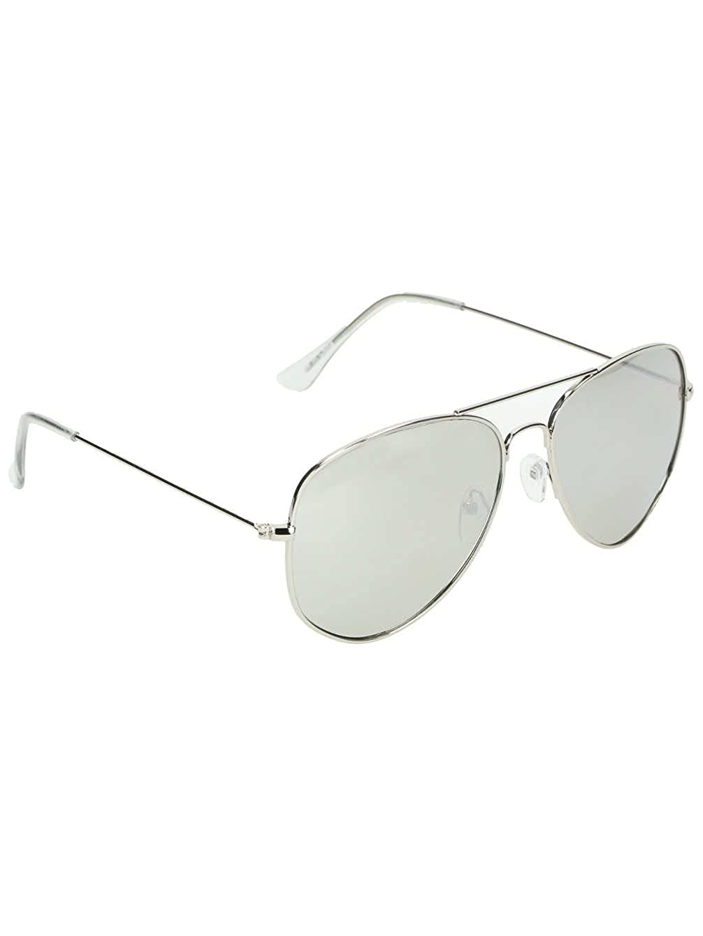 8480d269363d Shade Men Empyre Opie Silver Aviator Shades: Amazon.co.uk: Clothing