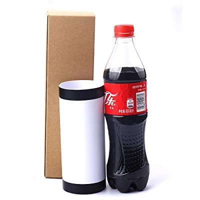 Enjoyer Vanishing Cola Bottle Magic Tricks Vanishing Coke Bottle Magic Gimmick Close-up Magic Illusions Stage Accessories: Toys & Games