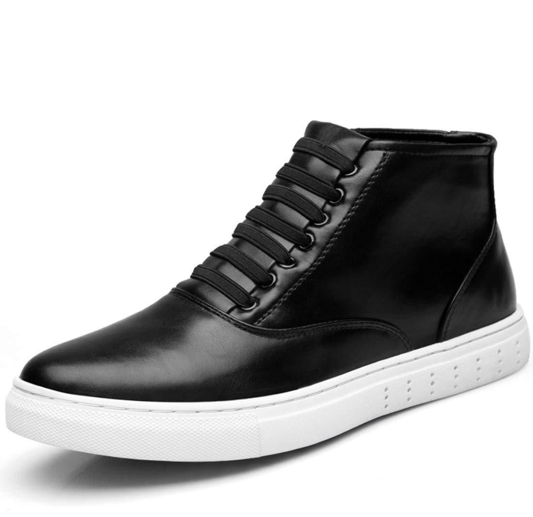 DANDANJIE Herren Casual Martin Stiefel High Top Loafers 2018 Herbst und Winter Skateboard Ankle Stiefel